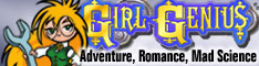 girl genius comics - Phil Foglio
